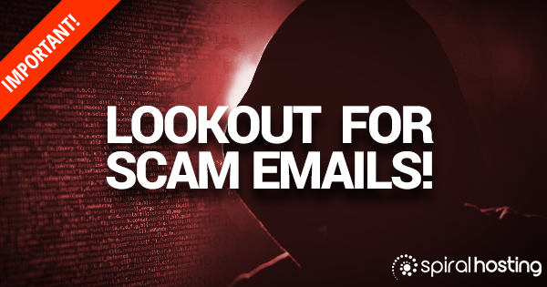 Lookout for Scam Emails!