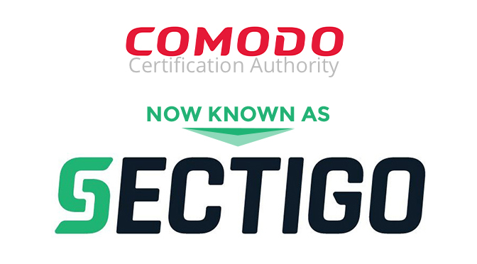 Comodo CA Changes Name to Sectigo